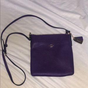 Purple Coach Crossbody purse!